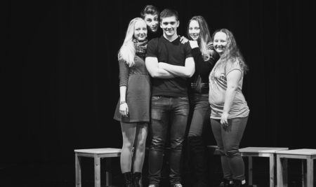Oblastní divadelní přehlídka Horažďovice 2017- úspěch studentského souboru