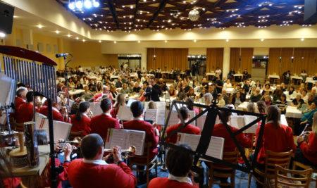 Koncert dechových orchestrů & workshop